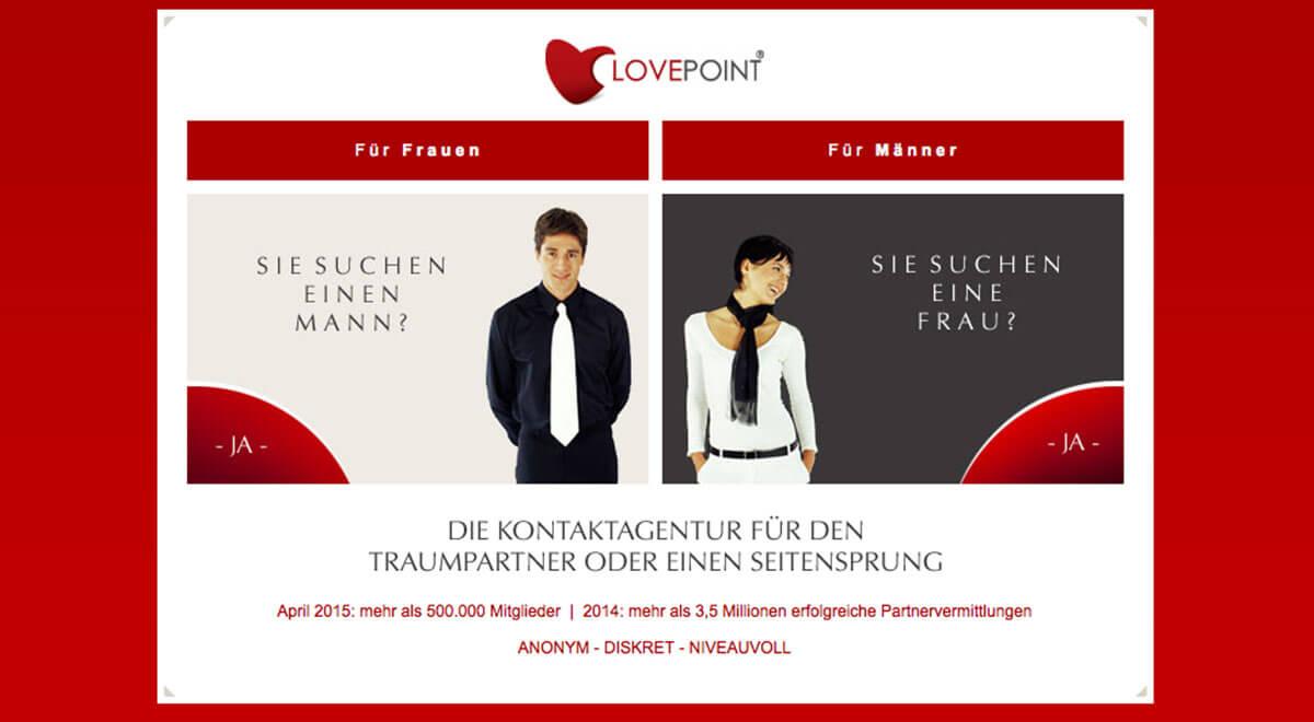 Partnersuche lovepoint