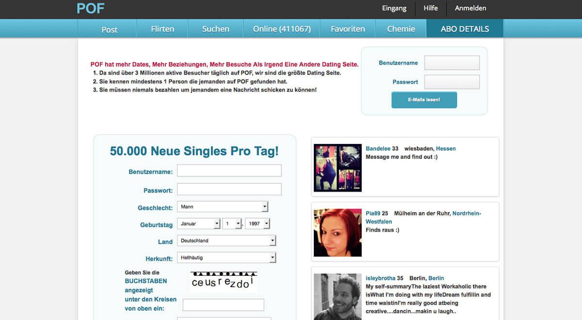 Kostenlose dating-apps pof