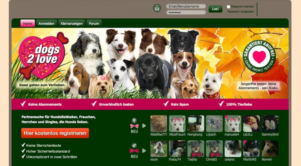 Partnervermittlung fur hundefreunde